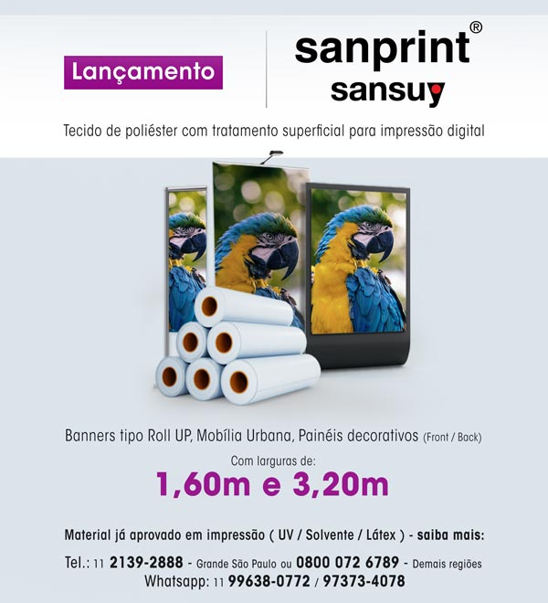 Lançamento Sanprint